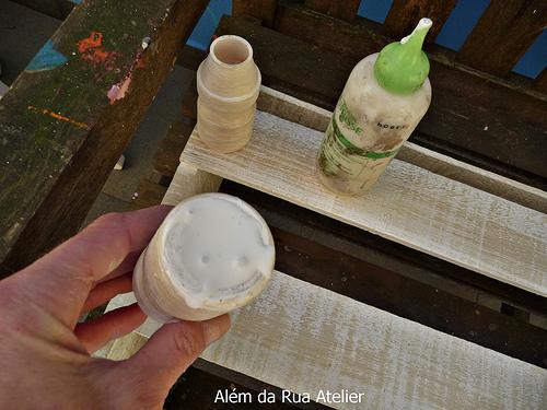 Adesivo Para Desentupir Vaso Sanitário Onde Comprar ~ Aprenda como reaproveitar caixotes com pátina