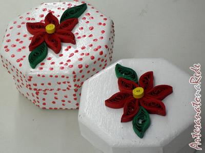 Caixa Flor Vermelha