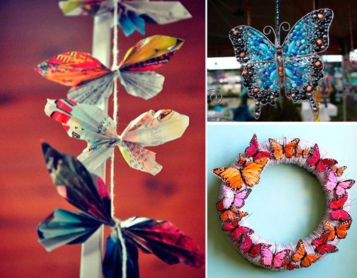 15 Ideias com Borboletas no Artesanato