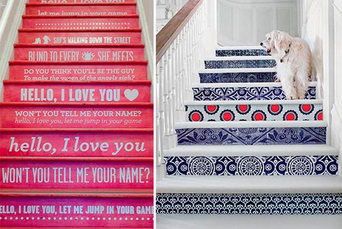 17 Ideias para Decorar Escadas