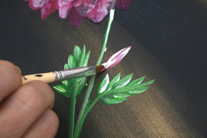 Painel de Flores Passo-a-Passo