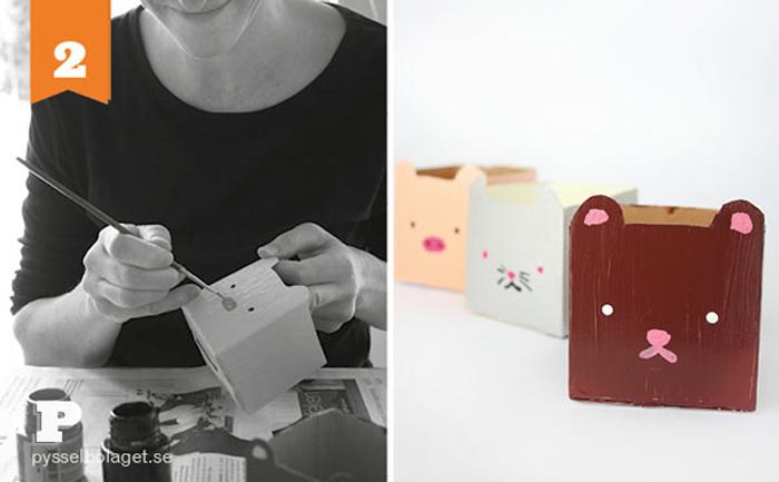 Vasinhos de Caixa de Leite