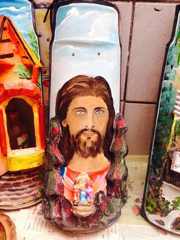 Artesanato em Telhas - Religião