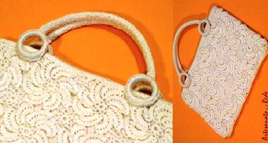 Bolsa Branca Fashion