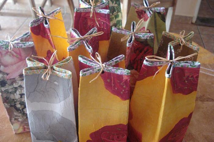 Reciclagem: Embalagem para Presente