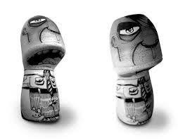 Bruno Honda do Ateliê Toys Arts incríveis