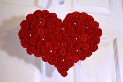 Ideias românticas em feltro para o Dia dos Namorados