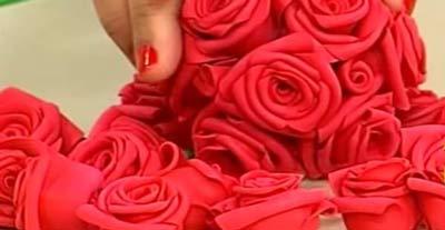 Rosas em EVA