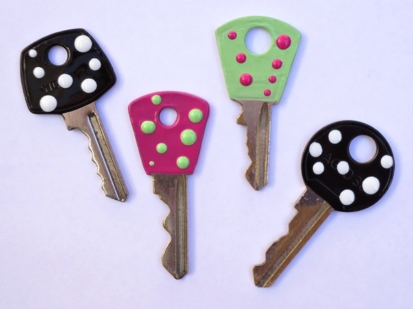 Customização de chaves