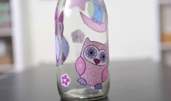 Reutilização de garrafas e vidros