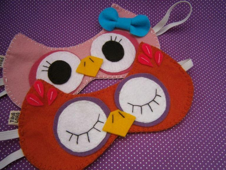 Máscaras para descanso divertidas