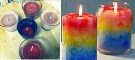 Reciclagem de velas