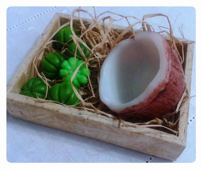 Sabonete de coco