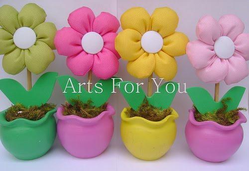 Vaso de flor decorativo