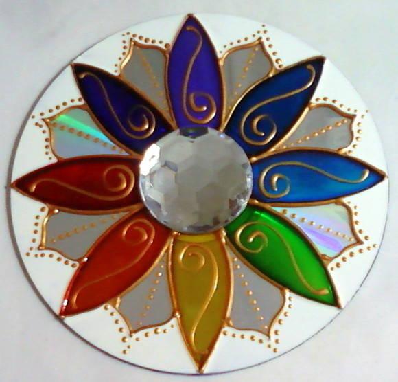 Mandala de CD
