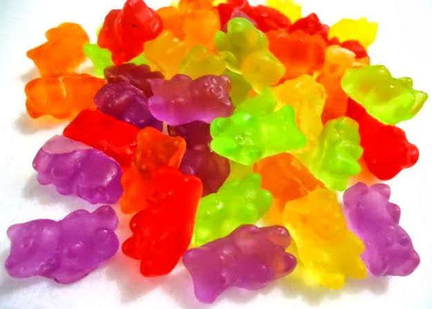 Balas de gelatina