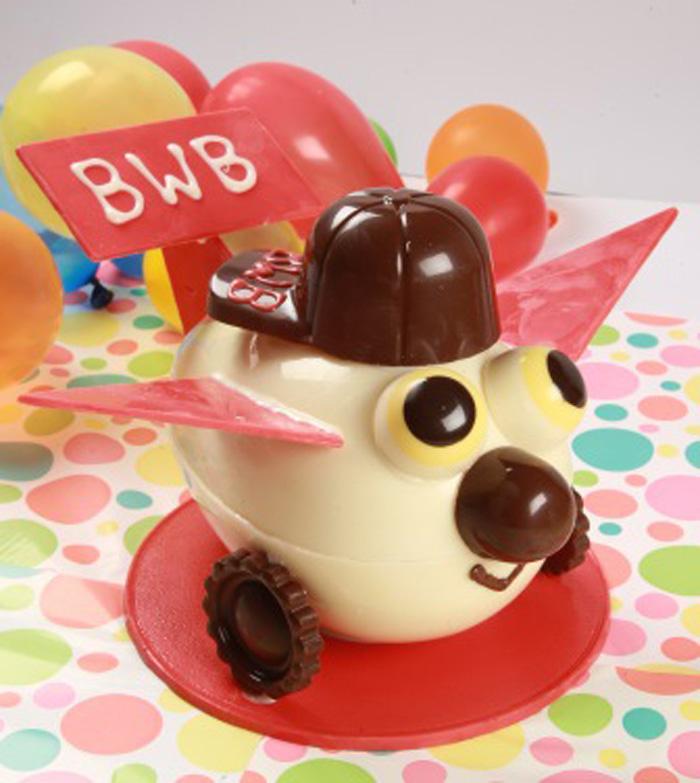 Chocolate divertido para as crianças