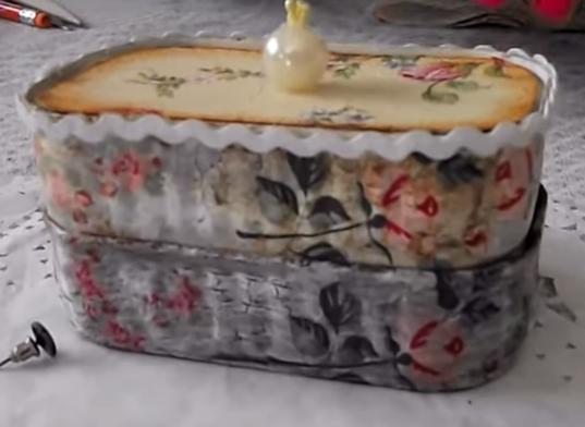 Porta joia de lata de sardinha