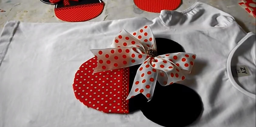 Camiseta da  Minnie Mouse