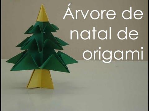 Árvore de Natal Origami