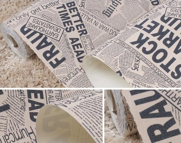 Como Fazer Papel de Parede de Jornal