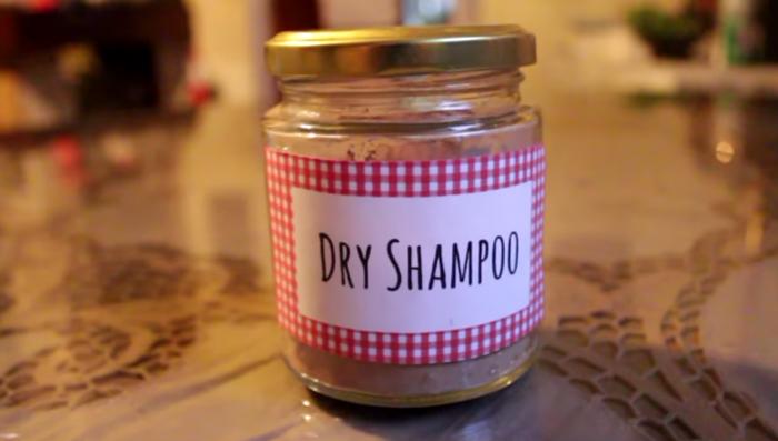 Como Fazer Shampoo Seco