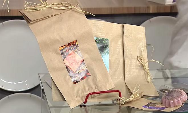 Transformando saco de pão em uma linda embalagem