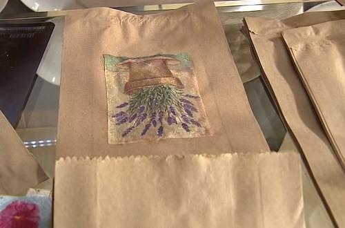 Transformando saco de pão em uma linda embalagem - Passo 6