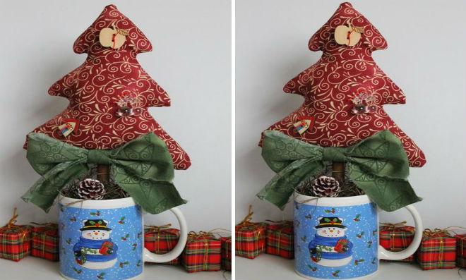 Como fazer uma árvore de Natal na caneca