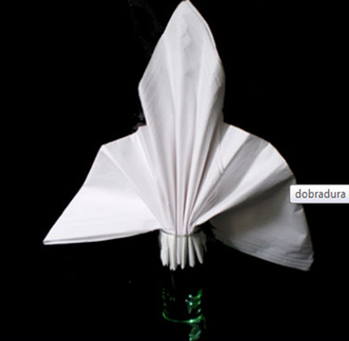 Guardanapo flor de lis