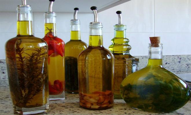 Azeite aromatizado artesanalmente