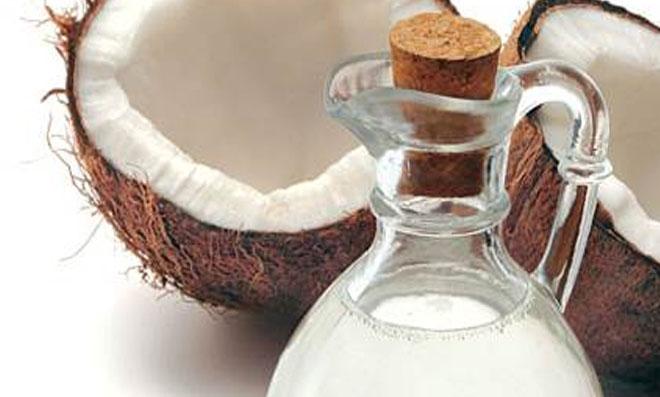 Óleo de coco caseiro