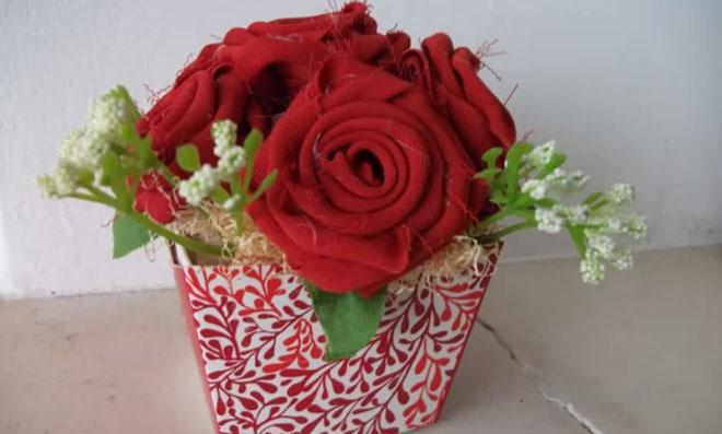 Vasinho de flores