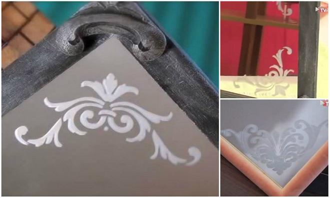 Aprenda Fosqueamento em espelho usando stencil