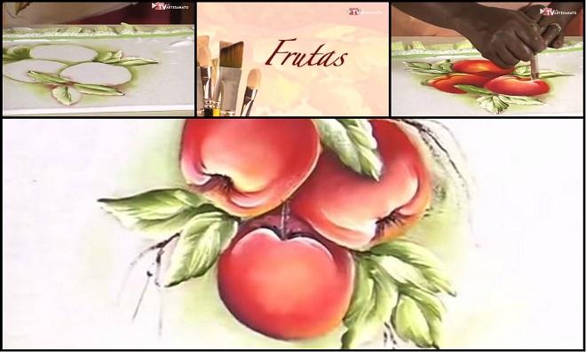 Aprenda Pintura em Tecido com tema Fruta