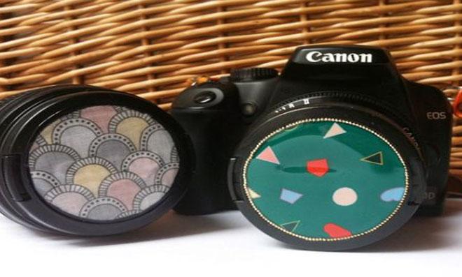 Como customizar a tampa da máquina fotográfica