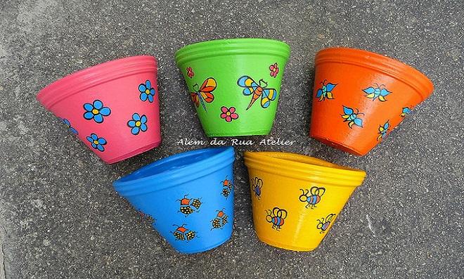 Aprenda como pintar vasos – Simplesmente Lindos!