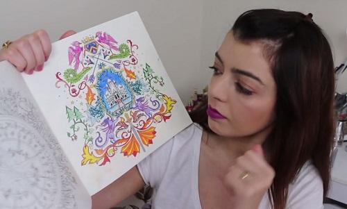 Veja quais materiais usar em livros de colorir - Lia Camargo