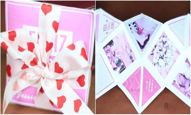 DIY – Faça um marcante Cartão álbum de Dia dos Namorados!!!