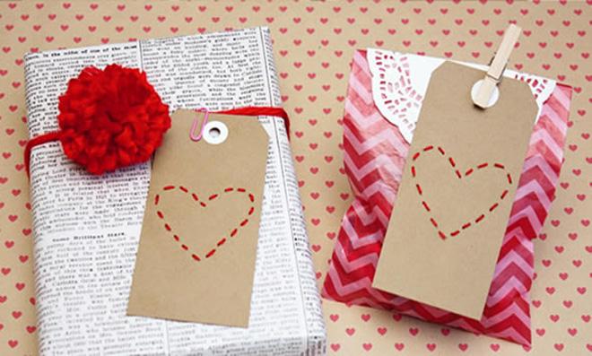 Tags para decoração de presentes