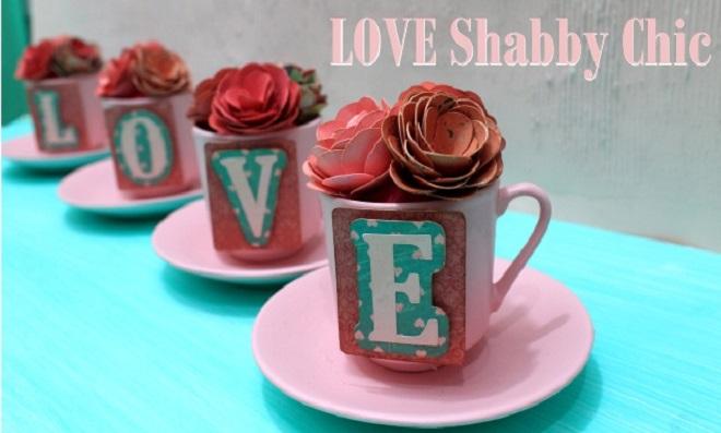 Scrapdecor: Aprenda a fazer lindas xícaras decoradas com flores