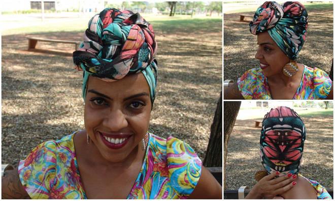 Os turbantes vem com tudo no verão! Confira como fazer um modelo