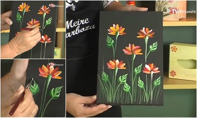 Pintura Decorativa – Flores do Campo
