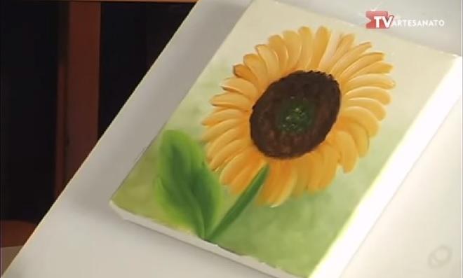 Pinturas Florais – Modelo girassol