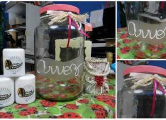 Fosqueamento em pote de vidro conserva-destaque
