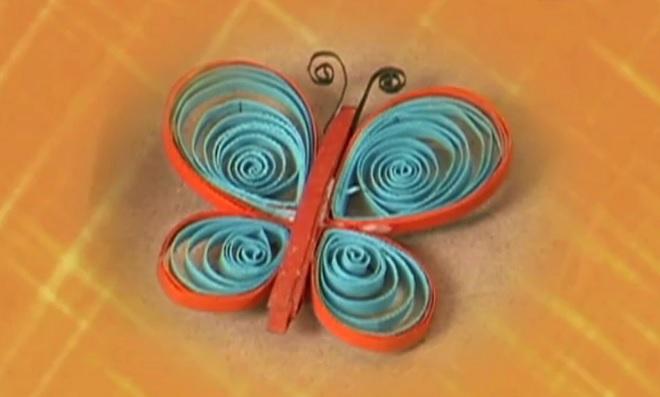 Quilling: Aprenda como fazer uma linda borboleta