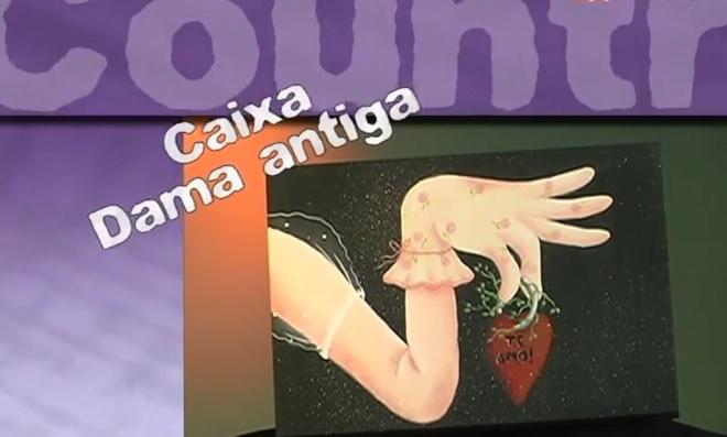 Pintura Country: Aprenda como fazer caixa Dama Antiga