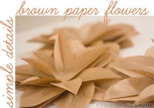 Flores feitas com saco de pão - Ilustração - Aula 1