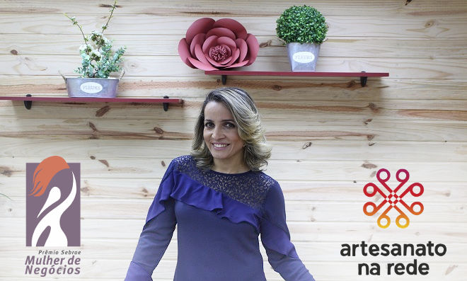 Andreia Bassan ganha Prêmio Mulher de Negócios 2017