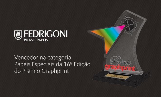 Fedrigoni vence prêmio por papéis especiais da Revista Graphprint